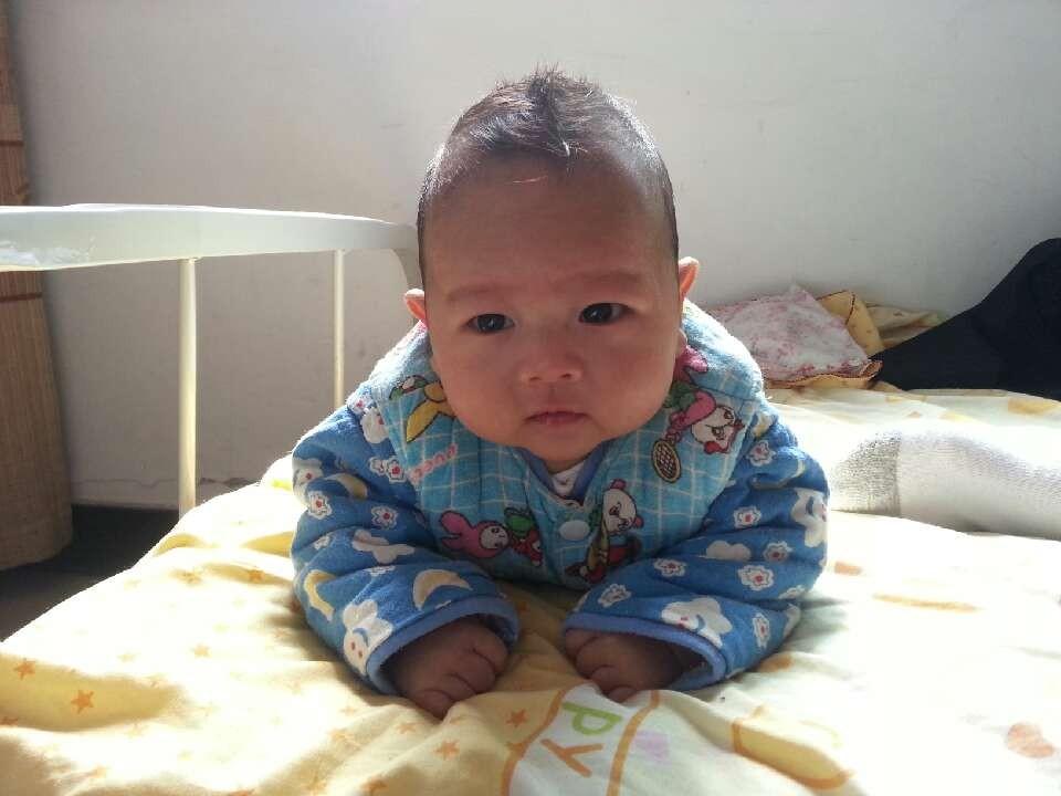 一岁男宝发型_男宝宝剃头创意发型图