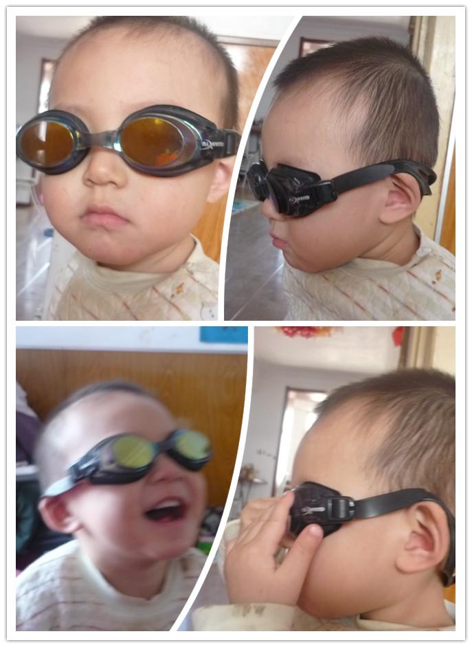 可爱萌宝带眼镜头像