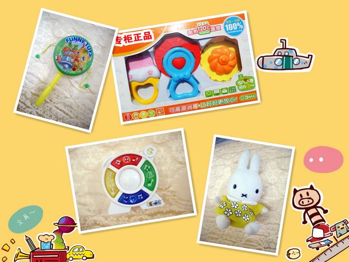 按年龄选玩具 +【我给宝宝选玩具】